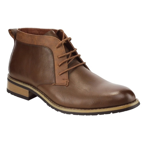 Ferro Aldo Men's AC98 Chukka Desert Lace-up High-top Work Boots