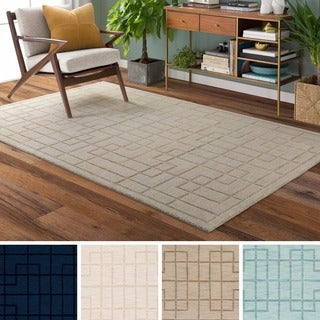 Hand-Loomed Rivington Wool Rug (5' x 8')