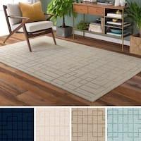 Hand-Loomed Rivington Wool Area Rug (5' x 8')