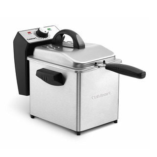 Cuisinart CDF-130 Stainless Steel 2-quart Compact Deep Fryer