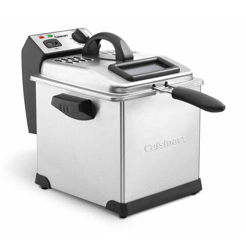 Cuisinart CDF-170 Stainless Steel 3.4-quart Deep Fryer
