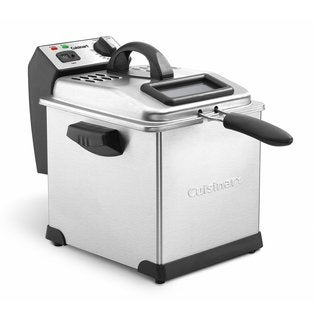 Cuisinart CDF-170 Stainless Steel 3.4-quart Deep Fryer