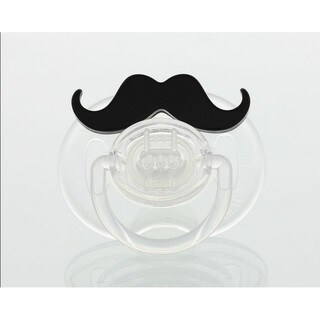 Handlebar Mustache Silicone Pacifier