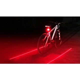LED Virtual Bike Safety Lane