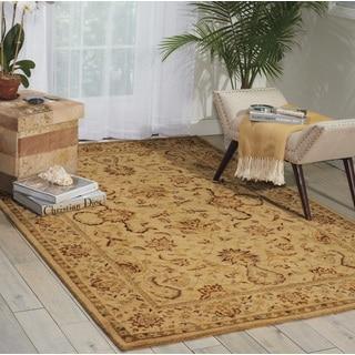 Nourison Parthia Sand Area Rug (3'6 x 5'6)