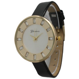 Olivia Pratt Women's Beautiful Unique Leather Watch