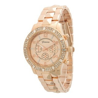 Olivia Pratt Women's Marvelous Rhinestone Accented Watch