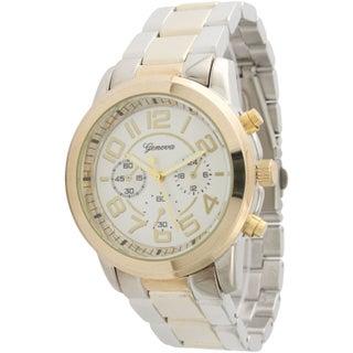 Olivia Pratt Women's Fancy Precious Watch (Option: Two-Tone)