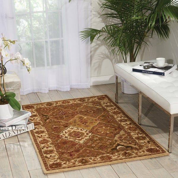 Nourison India House Multicolor Area Rug - multi - 3'6 X 5'6