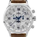 Balmer Swiss Made Phantom II men's Complete Calendar dress watch. Day/Date/Week/Month/Moonphase, Sapphire