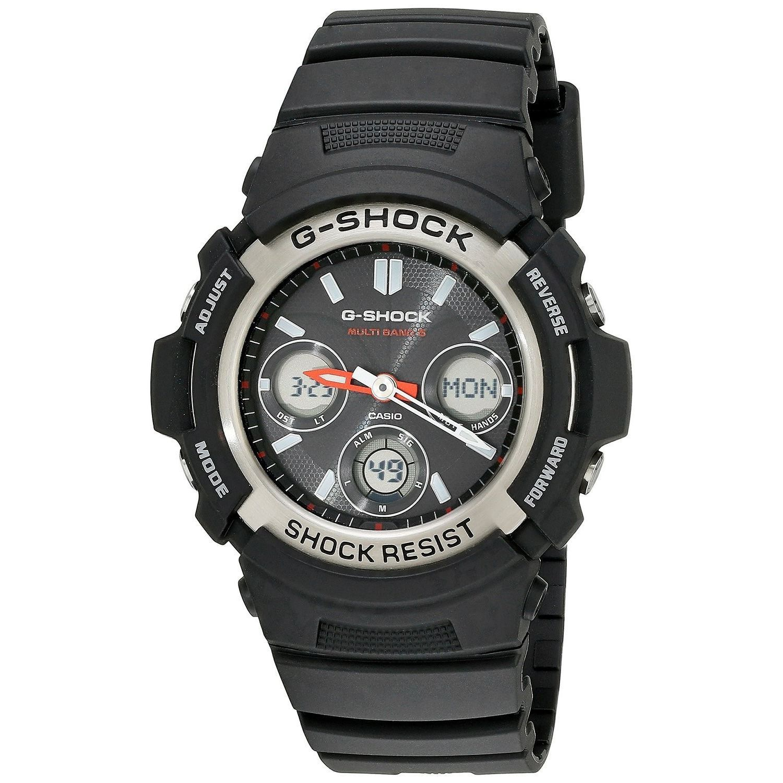 Casio Men's AWGM100-1ACR 'G-Shock Atomic' Analog-Digital ...