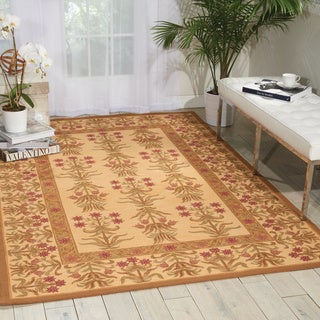 Nourison 16th Century Light Gold Area Rug (3' x 5')