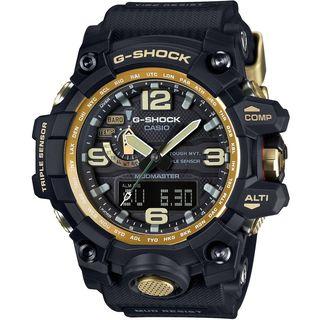 Casio Men's GPW1000GB-1ACR 'G-Shock GravityMaster' Analog-Digital Black Resin Watch