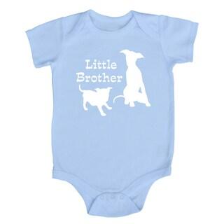 Rocket Bug 'Little Brother Puppy' Baby Bodysuit