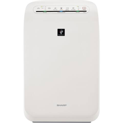 Sharp FP-F60UW Plasmacluster Ion Air Purifier with True HEPA Filtration (Coverage up to 280 square feet)