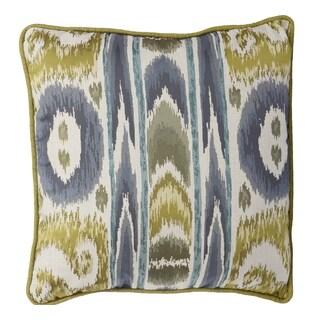 Jacquard 18-inch x 18-inch Woven Throw Pillow