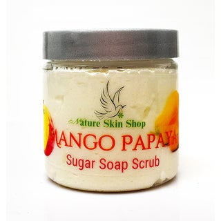 Mango Papaya Sugar Soap Scrub