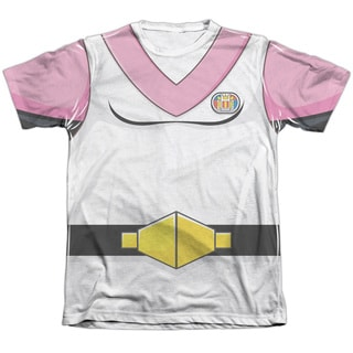 Voltron/Allura Costume Adult 65/35 Poly/Cotton Short Sleeve Tee in White