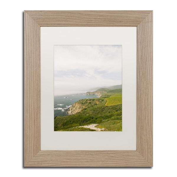 Shop Ariane Moshayedi \'Green Big Sur Coast\' Matted Framed Art - Free ...