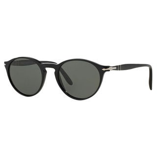 Persol Men's PO3092SM Plastic Phantos Polarized Sunglasses