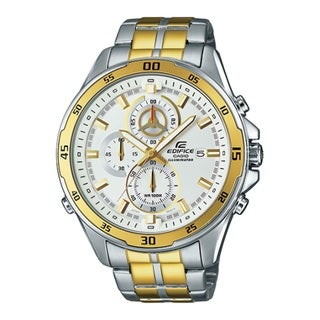 Casio Men's EFR547SG-7A9 'Edifice Illuminator' Chronograph Two-Tone Stainless Steel Watch