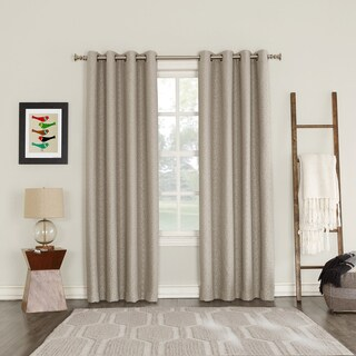 Sun Zero Talin Blackout Lined Grommet Curtain Panel