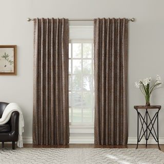 Sun Zero Salazar Blackout-lined Back-Tab Curtain Panel