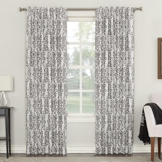Sun Zero Rochelle Blackout Lined Back-tab Curtain Panel