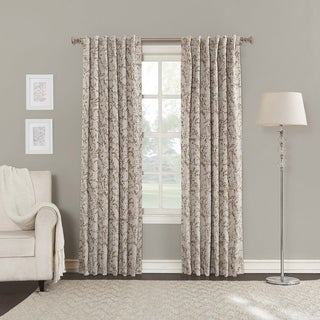 Sun Zero Kavala Blackout Lined Back-Tab Curtain Panel