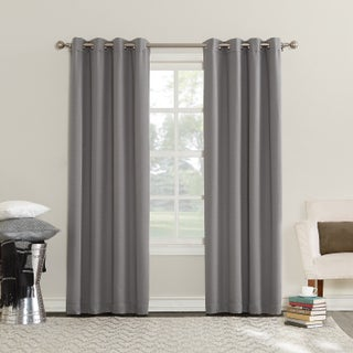 Sun Zero Emden Room Darkening Triple Lined Grommet Curtain Panel (2 options available)