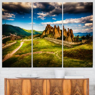Belogradchik Fortress and Cliffs - Landscape Art Print Canvas