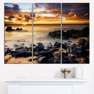 Beautiful Sunset at Philip Island - Extra Large Wall Art Landscape