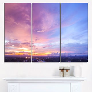 Beautiful Sunset at Trang Thailand - Extra Large Wall Art Landscape