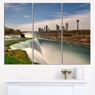 American Falls at Niagara Falls - Extra Large Wall Art Landscape