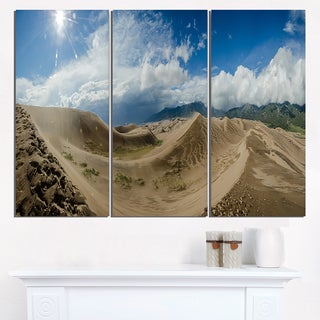 Massive Sand Dunes Panorama - Landscape Print Wall Artwork