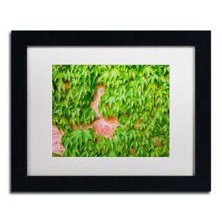 Ariane Moshayedi 'Ivy Wall 2' Matted Framed Art