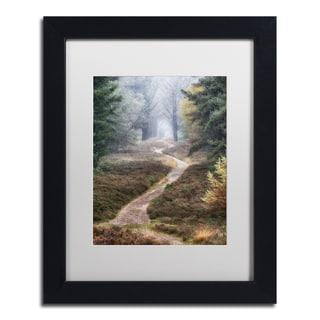 Cora Niele 'Hiking Trail' Matted Framed Art