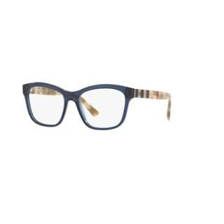 Burberry BE2227 3603 Blue Plastic Square Eyeglasses w/ 54mm Lens