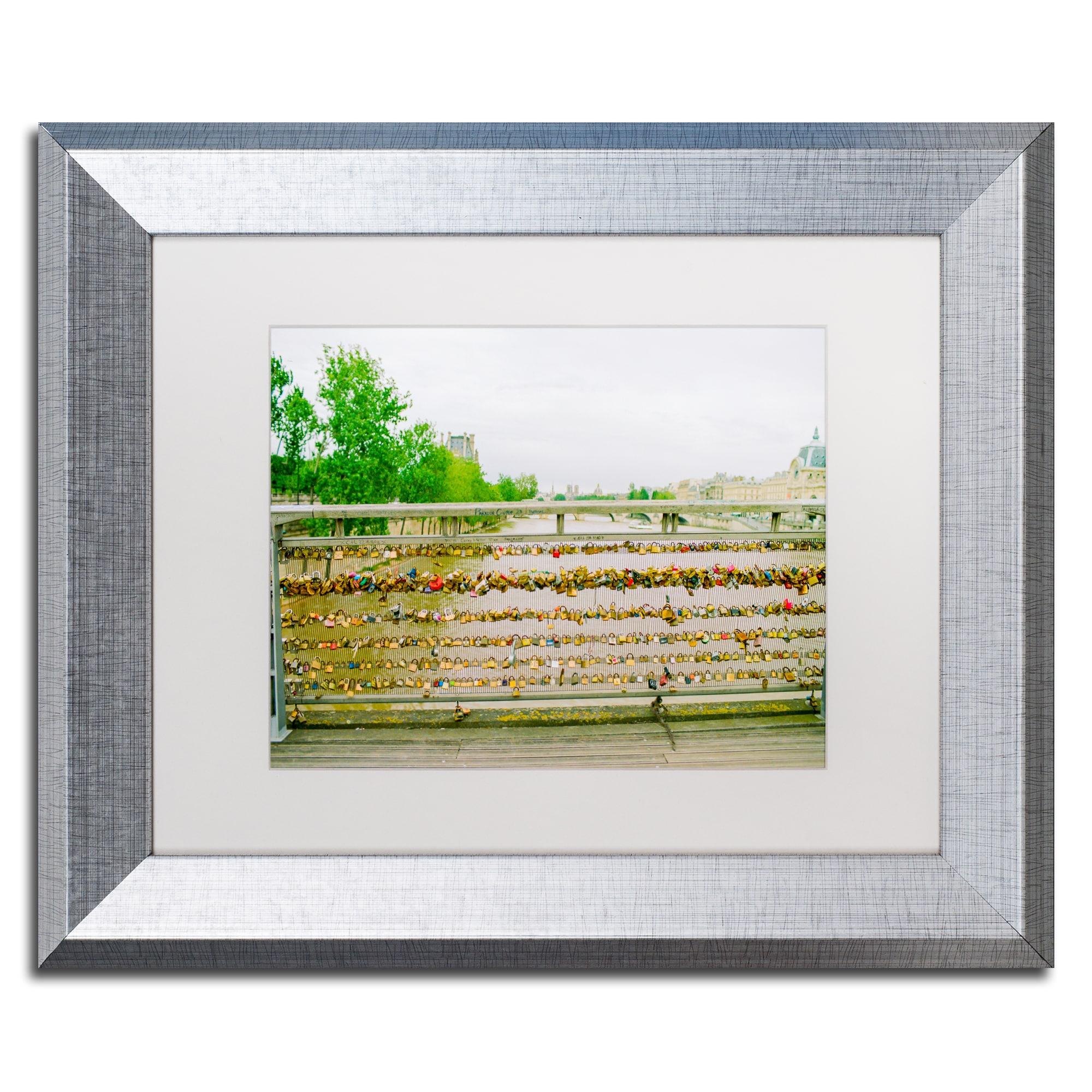 Ariane Moshayedi Paris Locks Love 2 Matted Framed Art Overstock 12390814