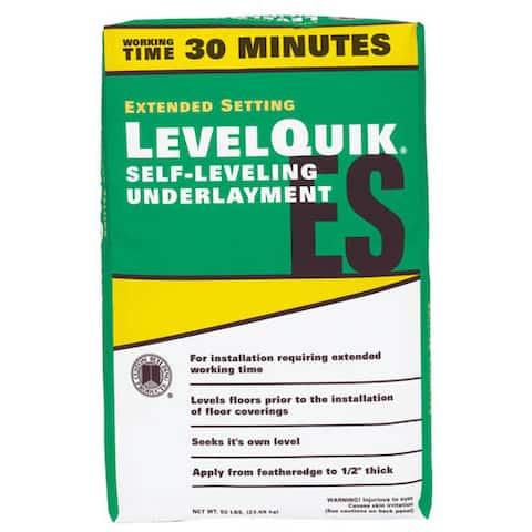 Levelquick LQESL50 50 Lb LevelQuik Extended Set Self-Leveling Underlayment