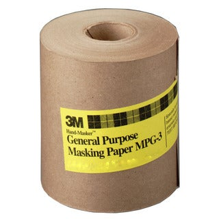 "3M MPG12 12"" X 60 Yards Hand-Masker General Purpose Masking Paper"