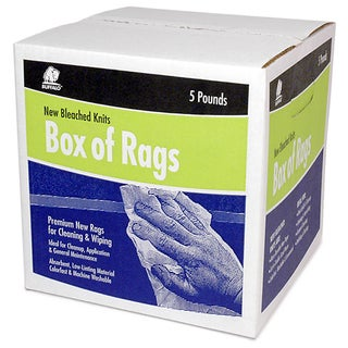 Buffalo 12022 5 Lb Box Of Rags