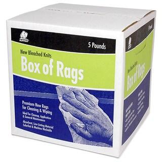 Buffalo 12022 5 Lb Box Of Rags
