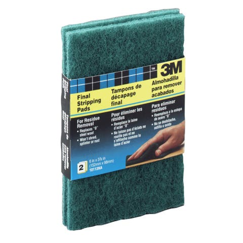3M 10113NA Final Stripping Pads For Residue Removal