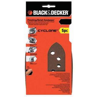 Black & Decker Power Tools BDAMMMX-5 Assorted Mega Mouse Finishing & Detail Sandpaper