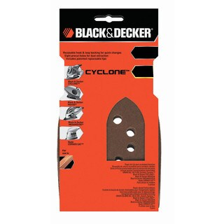 Black & Decker Power Tools BDAMM220 220 Grit Mega Mouse Fine Sandpaper