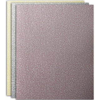 Norton 05386 3X Assorted Grit Sandpaper 3-count