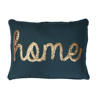 Thro Home By Marlo Lorenz Blue Pillow