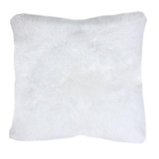 Chubby Set of 2 Faux Fur Throw Pillows