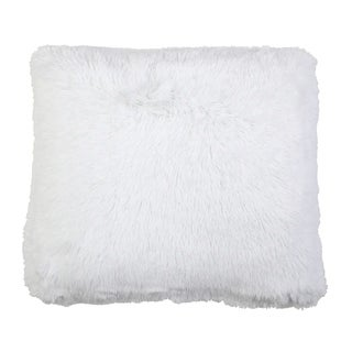 Chubby Set of 2 Faux Fur Throw Pillows